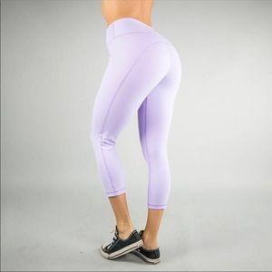 BuffBunny Camilla Crop Legging Lavender